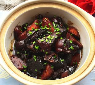 海鲜酱烧羊肉的家常做法