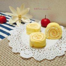 奶油小蛋糕卷的做法