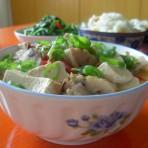 墨鱼丸炖豆腐