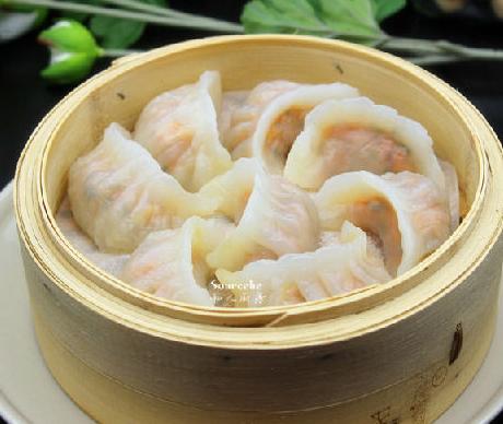 水晶虾饺的家常做法