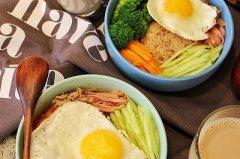 韩式拌糙米饭的做法