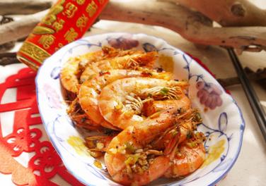 奶油蒜香虾的家常做法