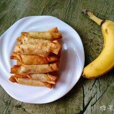 糖果香蕉的做法