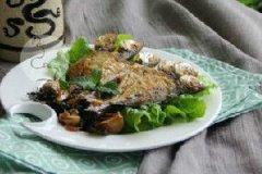 紫苏煎焖鱼的家常做法