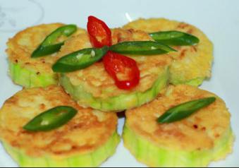 韩式西葫芦煎饼