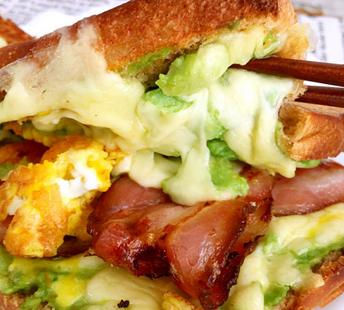 牛油果三明治的家常做法