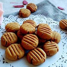 奶油花生小饼干的做法