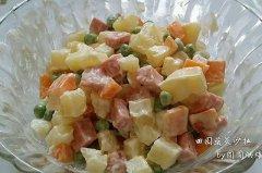 田园蔬菜沙拉的做法