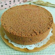 八寸可可粉蛋糕的做法