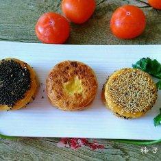 芝香柿子饼的做法