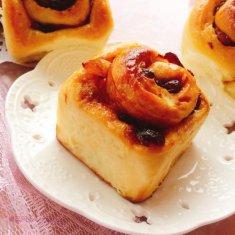 黄油水果面包卷的做法