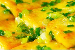 葱香焖煎豆腐的家常做法