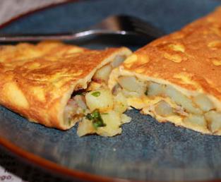 法式土豆煎蛋卷的家常做法