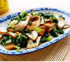 青菜炒香干的家常做法
