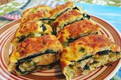 蔬菜蛋卷的做法