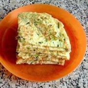 黄瓜鸡蛋饼的做法