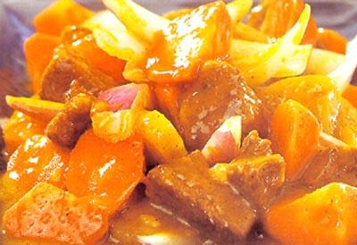 咖喱牛肉的做法大全